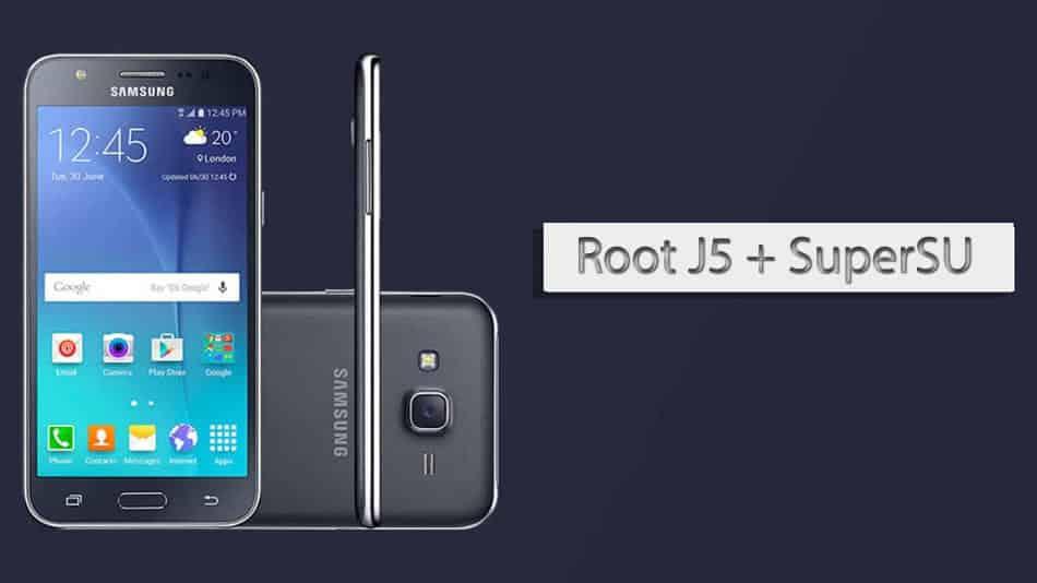 Begini Cara Root Samsung J5 2015 100% Berhasil Sudah Ada